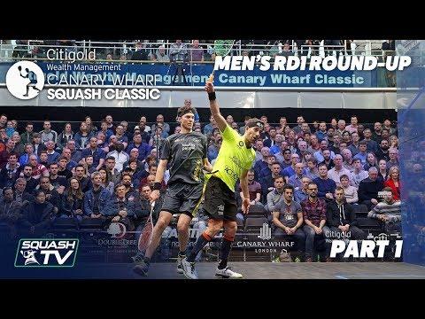 Squash: Canary Wharf Classic - Rd 1 Roundup [Pt. 1]