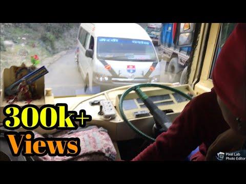 Crazy Bus Ride Nepal, Kathmandu To Besisahar