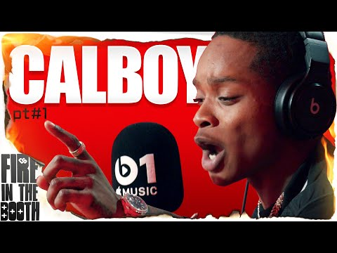 Calboy – Fire In The Booth
