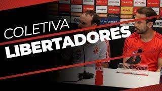 Video Coletiva de Imprensa - Flamengo 2x0 Emelec (AO VIVO) MP3, 3GP, MP4, WEBM, AVI, FLV Mei 2018
