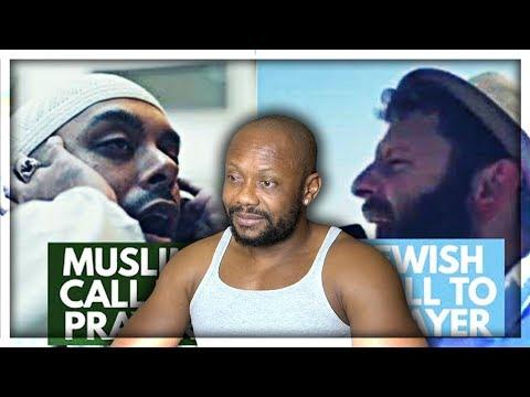Christian Reacts To Muslim Azan v Jewish Azan   Difference between Muslim and Jewish Call To Prayer