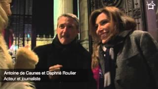 Voir la vidéo : LE LOOK D'ANTOINE DE CAUNES ET DAPHNE ROULIER