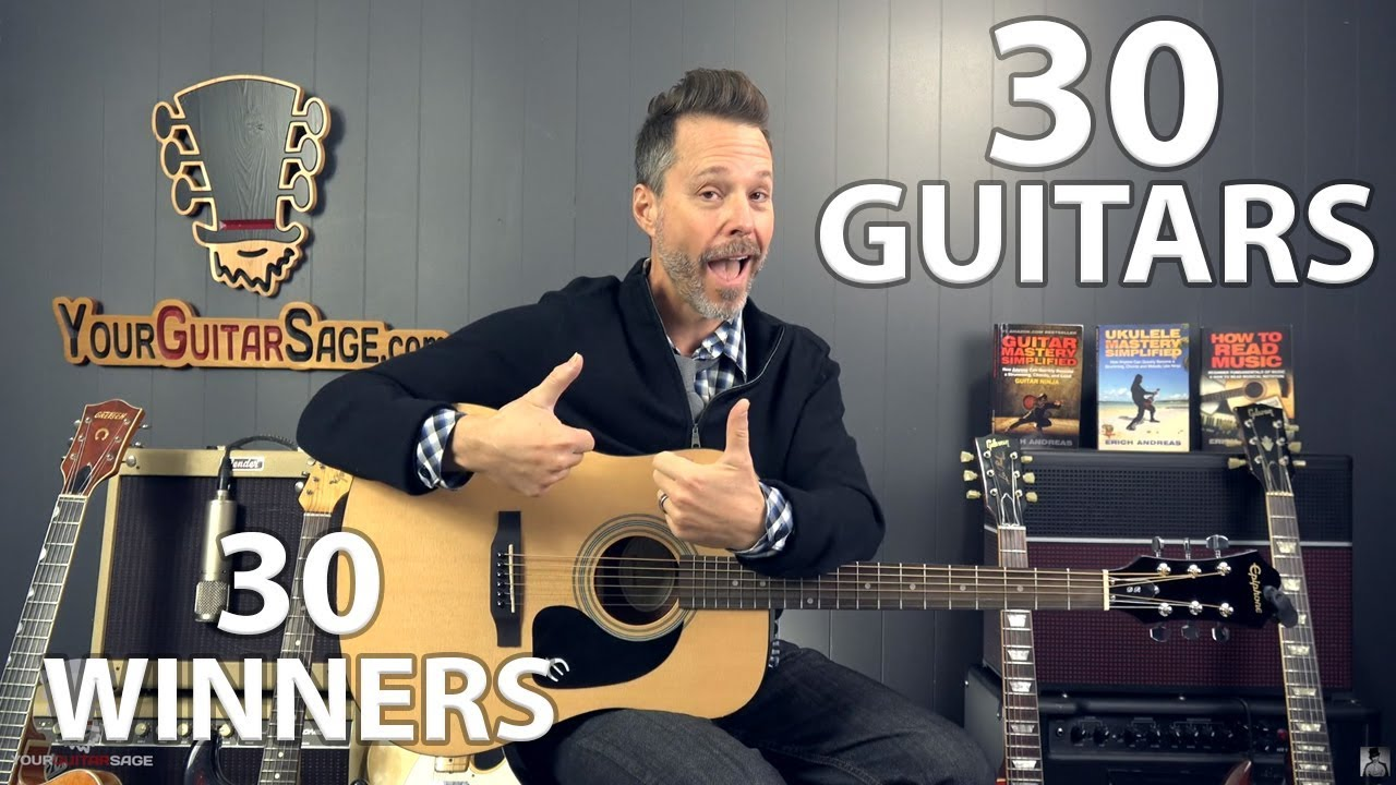 30 Guitars, 30 Winners, 30 Days!! (GUITAR GIVEAWAY)