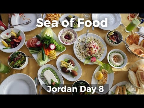 Sea of Food at the Dead Sea (видео)
