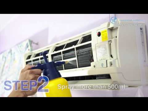 Yz Crystal Aircon Coil Washing (diy Aircon Cleaning)