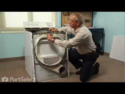 Dryer Repair – Replacing the Drum Bearing (GE Part # WE3M26)