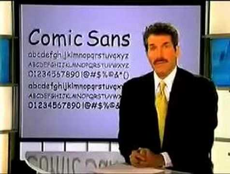 Collection - Comic Sans!