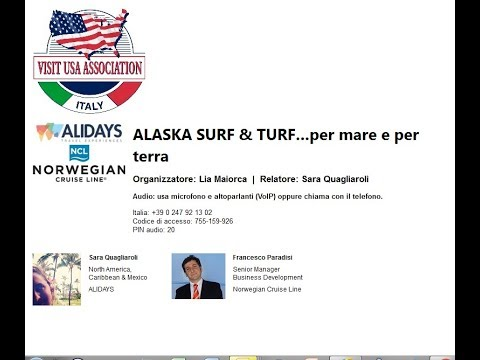 Video ALASKA SURF & TURF…per mare e per terra  (11-1-2018)