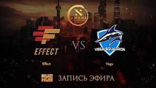 Effect vs Vega, DAC 2017 CIS Quals, game 1 [V1lat, Faker ]