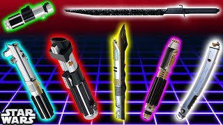 Video TOP 7 Lightsaber Colours and Meanings (CANON) - Star Wars Explained MP3, 3GP, MP4, WEBM, AVI, FLV Juli 2018