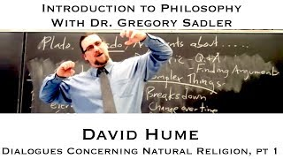 Intro To Philosophy:  Hume, Dialogues Concerning Natural Religion