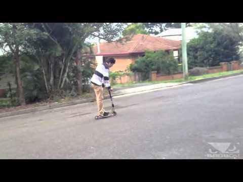 Frontflip con un patinete