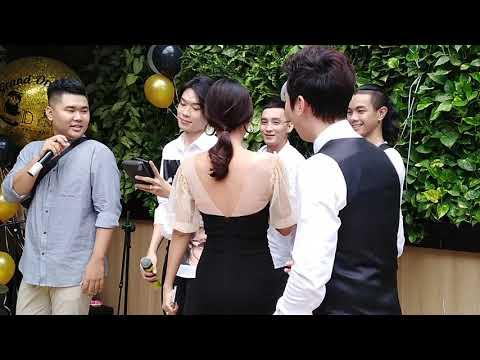 0 Trương Quỳnh Anh, Nam Thư, Quang Trung... quẩy tưng bừng tại buổi khai trương trà sữa