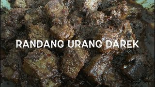 Video Rendang Padang - Cara Menghitamkan Rendang Daging - Randang Darek ~ Indonesian Beef Rendang II CLK MP3, 3GP, MP4, WEBM, AVI, FLV Mei 2019