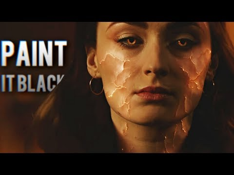 Jean Grey | Dark Phoenix | Paint It Black