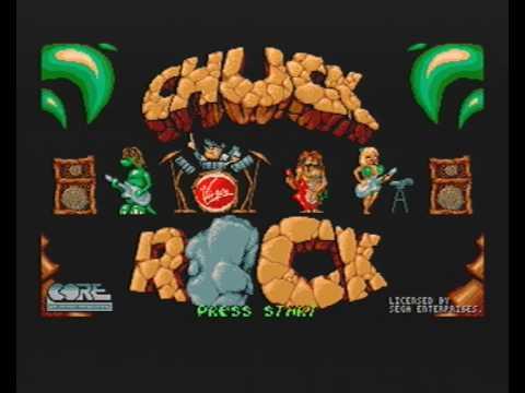 test chuck rock megadrive