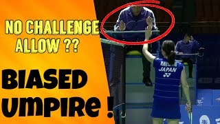 Video Umpire NOT GIVING CHALLENGE   DIRTY DISPLAY BY THE CHINESE UMPIRE   Badminton China Open 2016 MP3, 3GP, MP4, WEBM, AVI, FLV November 2018