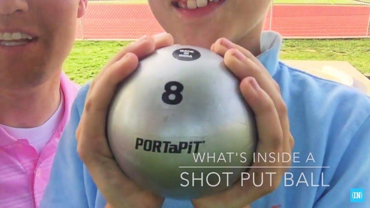 What's inside a Shot Put Ball?