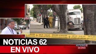 Camión de carga se lleva a dos niñas. – Noticias 62. - Thumbnail