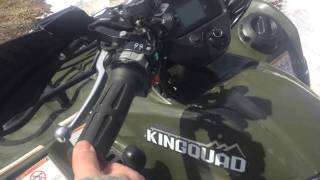 8. Suzuki Kingquad 500axi power steering| long term review |ride|mods