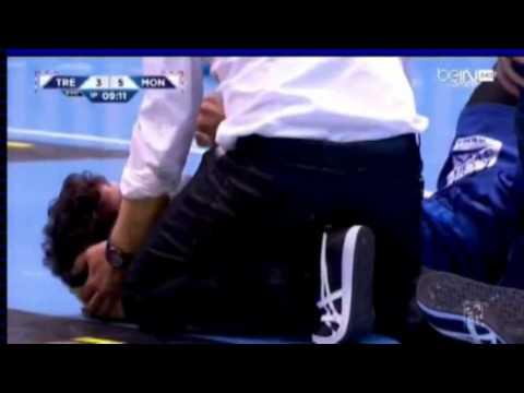 Si Diego Simonet no usara protector bucal....