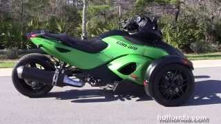 11. Used 2012 Can-Am Spyder RSS Motorcycles for sale