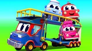 Video Super Truck in Car City - Truck videos for kids - Official Live MP3, 3GP, MP4, WEBM, AVI, FLV April 2019
