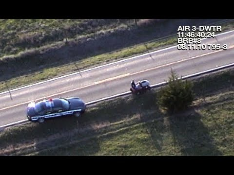 Cops Chase Lawn Mower Guy