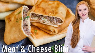 Meat & Cheese Blini by Tatyana's Everyday Food