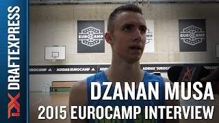 Dzanan Musa Interview at the 2015 adidas EuroCamp - DraftExpress
