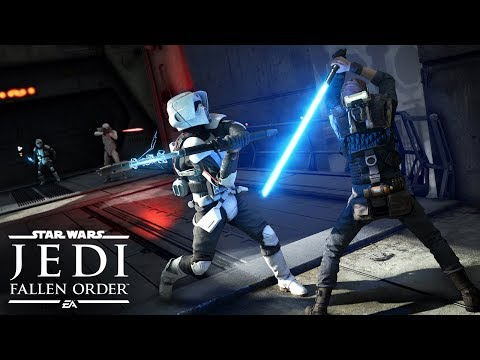 Star Wars Jedi Fallen Order Official Gameplay Demo  EA PLAY 2019