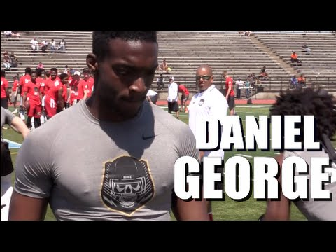 WR || Daniel George '18 : Oxon Hill (Oxon Hill, MD) The Opening