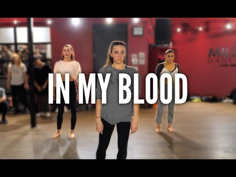 Video SHAWN MENDES - In My Blood | Kyle Hanagami Choreography download in MP3, 3GP, MP4, WEBM, AVI, FLV January 2017