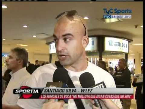 Santiago Silva habla sobre su posible llegada a Boca