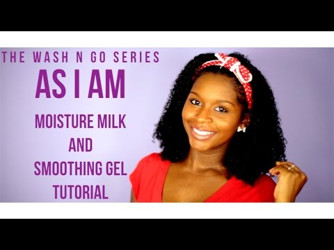 The Wash N Go Series: As I AM Moisture Milk and Smoothing Gel