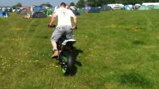 5. APRILIA SXV 550 DRIFTING AT THE ISLE OF MAN TT 2011, SILMOTO, SUPERMOTO