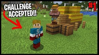 THE VILLAGE AND PILLAGE CHALLENGE BEGINS!! | #1