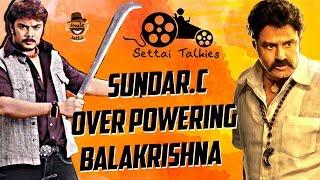 Video Sundar C. overpowering Balakrishna | Settai Talkies with Ayaz - #6 | Smile Settai MP3, 3GP, MP4, WEBM, AVI, FLV Januari 2018