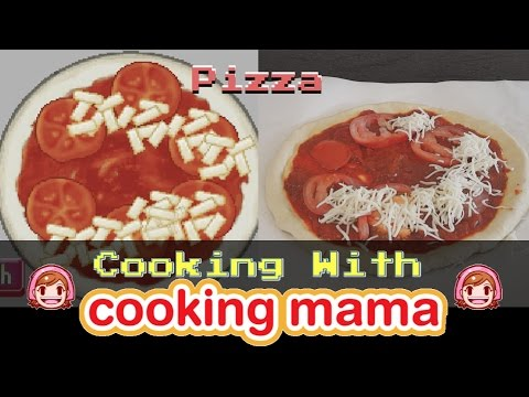 Pizza | Cooking With Cooking Mama!