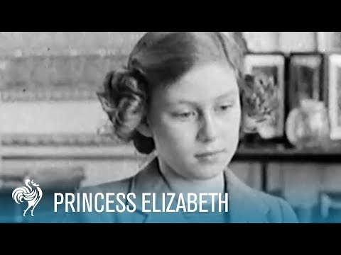 Princess Elizabeth's Broadcast To Children