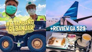 VLOG Tambang Batubara, Kuliner Banjar & Flight Garuda Indonesia Banjarmasin ke Jakarta