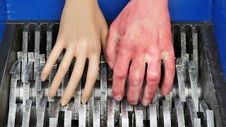 SHREDDING PLASTIC HANDS