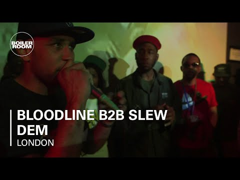 Bloodline B2B Slew Dem Boiler Room x Keepinitgrimy LIVE Show with DJ Logan Sama