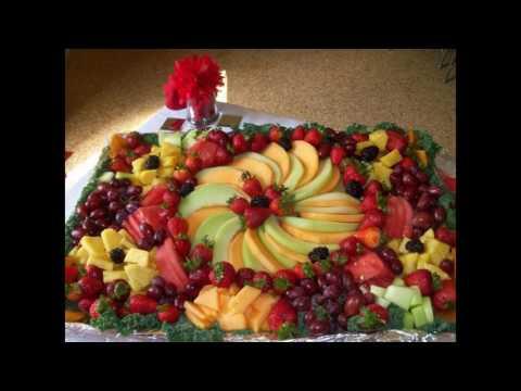 Easy Fruit platter decoration ideas