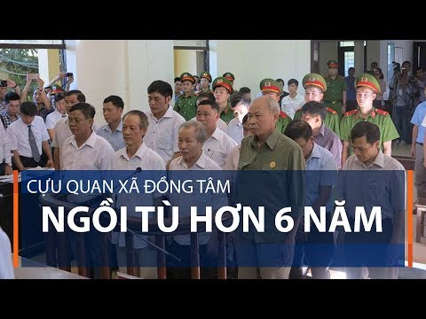 Cựu quan xã Đồng Tâm ngồi tù hơn 6 năm | VTC1 - Thời lượng: 97 giây.