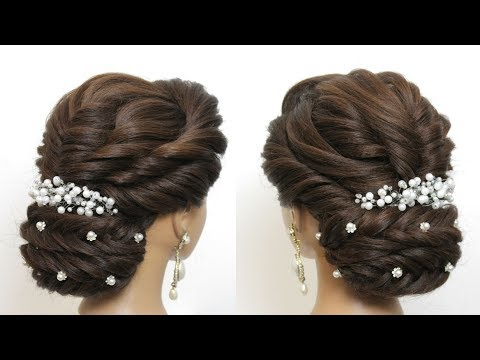 Hairstyles for long hair - New Hairstyle For Girls with Long Hair 2019. Bridal Hair Tutorial