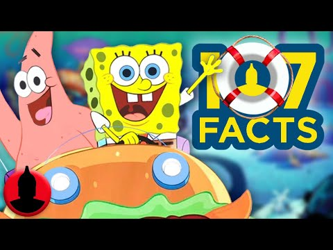 107 Facts About The SpongeBob SquarePants Movie - Cartoon Facts! (107 Facts S7 E25)