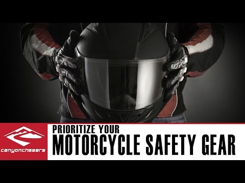 How to Prioritize Motorcycle Safety Gear