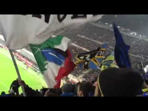 Milan - Inter 3-0 tifo CURVA NORD 31/1/2016