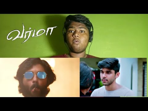 Varma Offlcial Teaser Reaction & Review Siva Reaction Bala Dhruv Vikram
